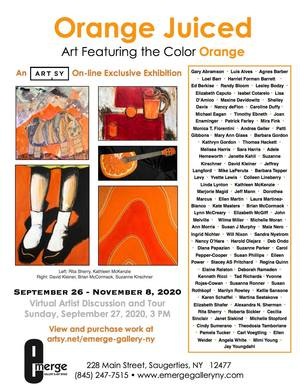 Emerge Gallery - Orange Juiced
